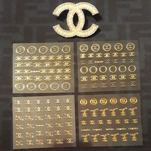 Chanel Nail Decals